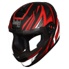 SBA-1 THRYL Mat Black With Red