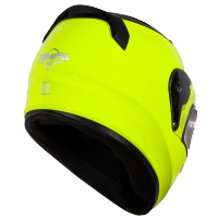 SA-1 FLUO NEON WITH ANTI-FOG SHIELD GOLD NIGHT VISION PHOTOCHROMIC VISOR