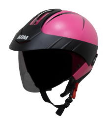 SB-33 ARM Reflective Dashing Pink With Peak (Fitted WithClear Visor Extra Smoke Visor Free)