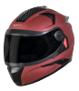SBH-17 OPT MAT MAROON (WITH EXTRA FREE CABLE LOCK AND CLEAR VISOR)