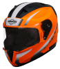 SA-1 WHIF GLOSSY FLUO ORANGE WITH WHITE PHOTOCHROMIC VISOR