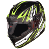 SA-1 BOOSTER MAT BLACK WITH NEON - PHOTOCHROMIC VISOR