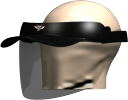 SB-17 FACE SHIELD WITH PEAK CAP (PACK OF 3)