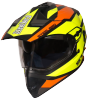SB-42 Bang Silt Mat Black With Neon (Clear With Sun Shield)