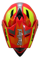 SB-42 Bang Silt Glossy Fluo Red With Orange (Clear With Sun Shield)