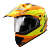 SB-42 Bang Silt Glossy Fluo Orange With Neon (Clear With Sun Shield)