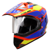 SB-42 Bang Silt Glossy Fluo Watermelon With Blue (Clear With Sun Shield)