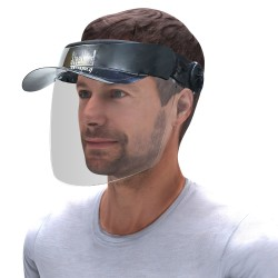 SB-17 FACE SHIELD WITH PEAK CAP