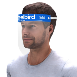 STEELBIRD SAFETY EQUIPMENTS STATIC FACE SHIELD 250 MICRONS (SB-FS-S-NM-250)
