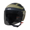 SB-29 AER MAT BLACK WITH DESERT STORM (FITTED WITH CLEAR VISOR WITH EXTRA SMOKE VISOR FREE)