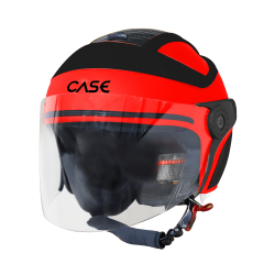 SB-29 CASE GLOSSY FLUO RED WITH BLACK