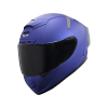 SA-2 MAT Y.BLUE ( FITTED WITH CLEAR VISOR WITH EXTRA SMOKE VISOR FREE)