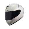 SA-2 MAT SILVER ( FITTED WITH CLEAR VISOR WITH EXTRA SMOKE VISOR FREE)
