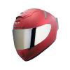 SA-2 MAT MAROON ( FITTED WITH CLEAR VISOR WITH EXTRA CHROME SILVER VISOR FREE)