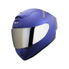 SA-2 MAT Y.BLUE ( FITTED WITH CLEAR VISOR WITH EXTRA CHROME SILVER VISOR FREE)
