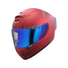 SA-2 MAT MAROON ( FITTED WITH CLEAR VISOR WITH EXTRA NIGHT VISION BLUE VISOR FREE)