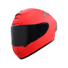 SA-2 GLOSSY FLUO WATERMELON (FITTED WITH CLEAR VISOR WITH EXTRA SMOKE VISOR FREE)