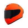 SA-2 GLOSSY FLUO ORANGE (FITTED WITH CLEAR VISOR WITH EXTRA SMOKE VISOR FREE)