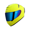 SA-2 GLOSSY FLUO NEON (FITTED WITH CLEAR VISOR WITH EXTRA CHROME BLUE VISOR FREE)