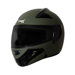 SB-34 TRX MAT BATTLE GREEN (FITTED WITH CLEAR VISOR EXTRA SMOKE VISOR FREE)
