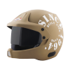 SB-51 RALLY TANK MAT DESERT STORM WITH WHITE (FITTED WITH CLEAR VISOR EXTRA SMOKE VISOR FREE)