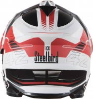 SB-42 Airbone Glossy White With Red +P-Cap